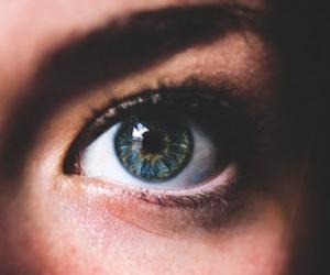 eyes, eye, and girl image