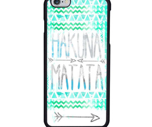 hakuna matata, quote, and iphone case image
