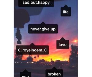 broken, happy, and life image