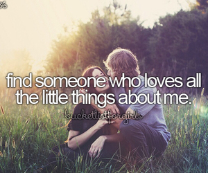 love, couple, and little things image