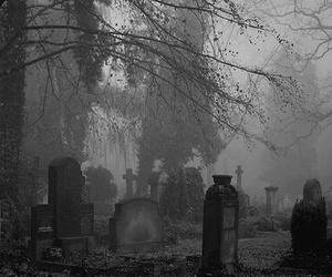 cemetery and dark image