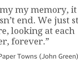 forever, john green, and quote image