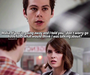 teen wolf, stalia, and stiles image