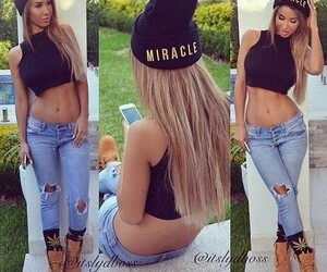 style, jeans, and swag image