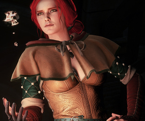 screenshot, triss, and the witcher 3 wild hunt image