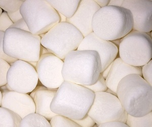 background, food, and marshmallow image