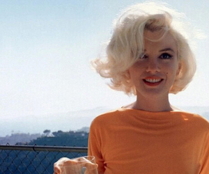 Marilyn Monroe, blonde, and vintage image