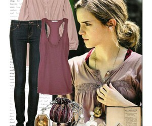 harry potter, outfit, and hermine granger image