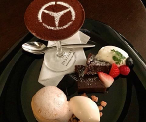 food and mercedes image