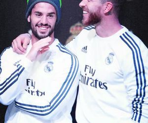 real madrid, isco, and ramos image