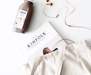 magazine, white, and juice image