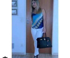 blusa, pants, and sandal image