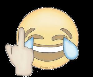 emoji, funny, and overlay image