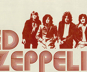 band, led zeppelin, and music image