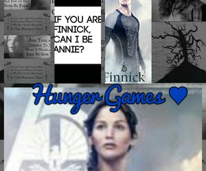 Collage and hunger games image