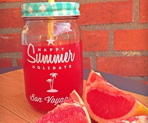 grapefruit, happy summer, and bon image