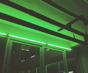 aesthetic, black, and green image