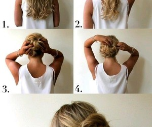 hairstyle, diy, and hair image