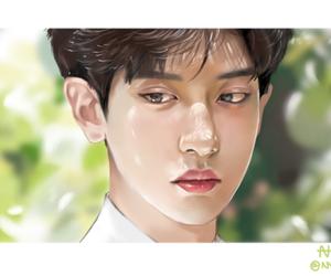 chanyeol, exo, and park chanyeol image