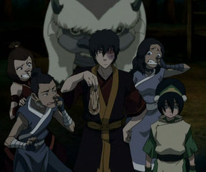 blind, the last airbender, and zuko image