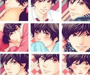 anime, Collage, and manga boy image