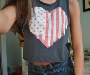 girl, tumblr, and heart image