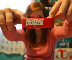 bracelet and mayday parade image