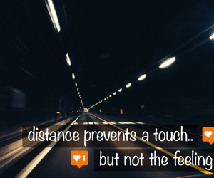 couple, distance, and feeling image