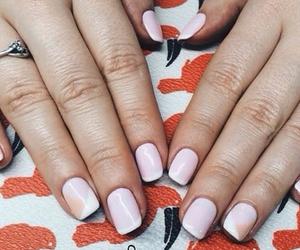 nails, gelish, and ma and mi image