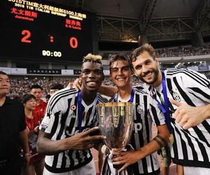 Juventus, paul pogba, and paulo dybala image