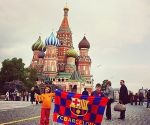 Barcelona, fc, and moscow image