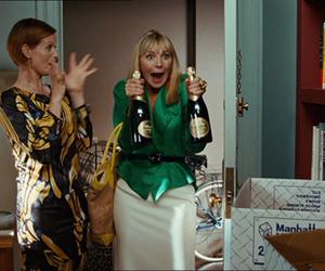 champagne, drinking, and miranda image
