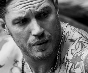 tom hardy, actor, and tattoo image