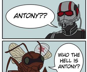 Marvel, funny, and ant-man image