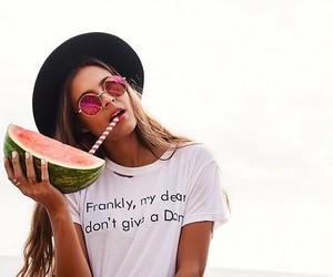 boys, watermelon, and fashion image