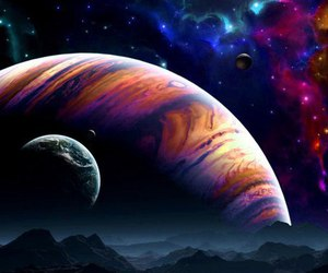 galaxy, wallpaper, and planet image