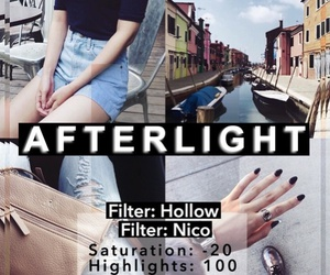 diy, filters, and afterlight image