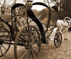 cinderella, carriage, and disney image