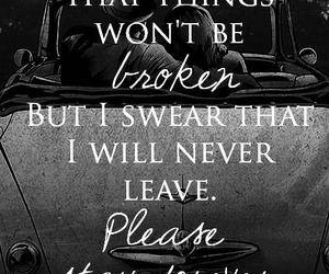 sleeping with sirens, sws, and Lyrics image