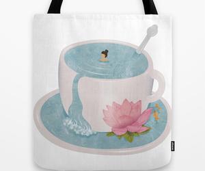 bag, bath, and woman image