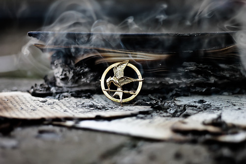 the hunger games, katniss everdeen, and mockingjay part 2 image