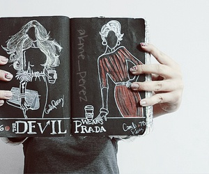 draw, girl, and wreck this journal image