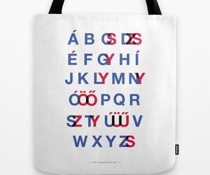 ABC, alphabet, and bag image