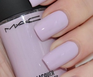 nails, mac, and nail polish image