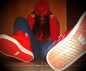 chicago bulls, supra, and shoes image