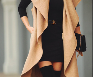 autumn, coat, and outfit image