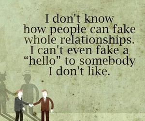 fake and Relationship image