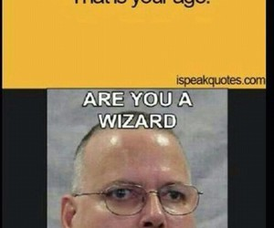 funny, wizard, and lol image