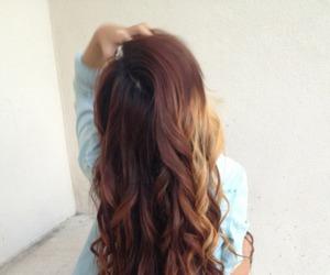 hair, brown, and long image