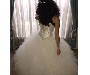sweet sixteen, white dress, and leian massa image